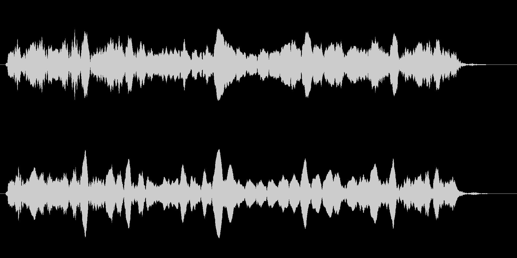 ピピピ(自主規制・数値・パラメータ表示)の未再生の波形