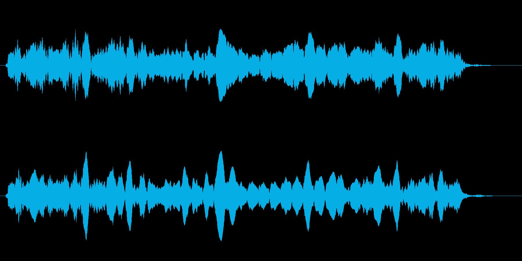 ピピピ(自主規制・数値・パラメータ表示)の再生済みの波形