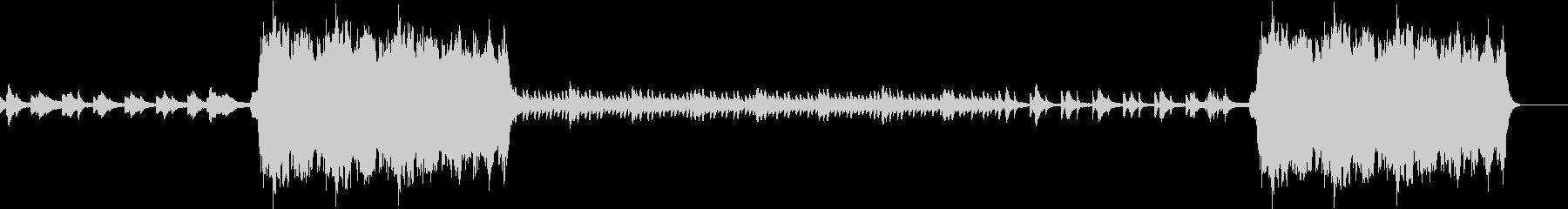 秋をイメージしたピアノインスト432Hzの未再生の波形