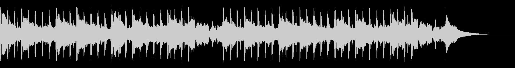 科学音楽(ショート)の未再生の波形