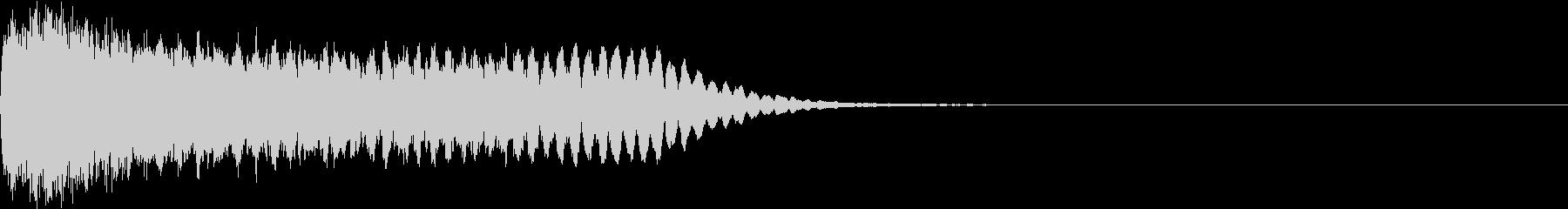 目立つ カットイン キラリ ピカーン 1の未再生の波形