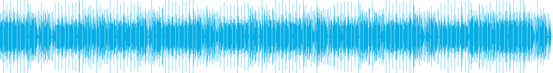 8bit ゲーム内音楽 チップチューン1の再生済みの波形