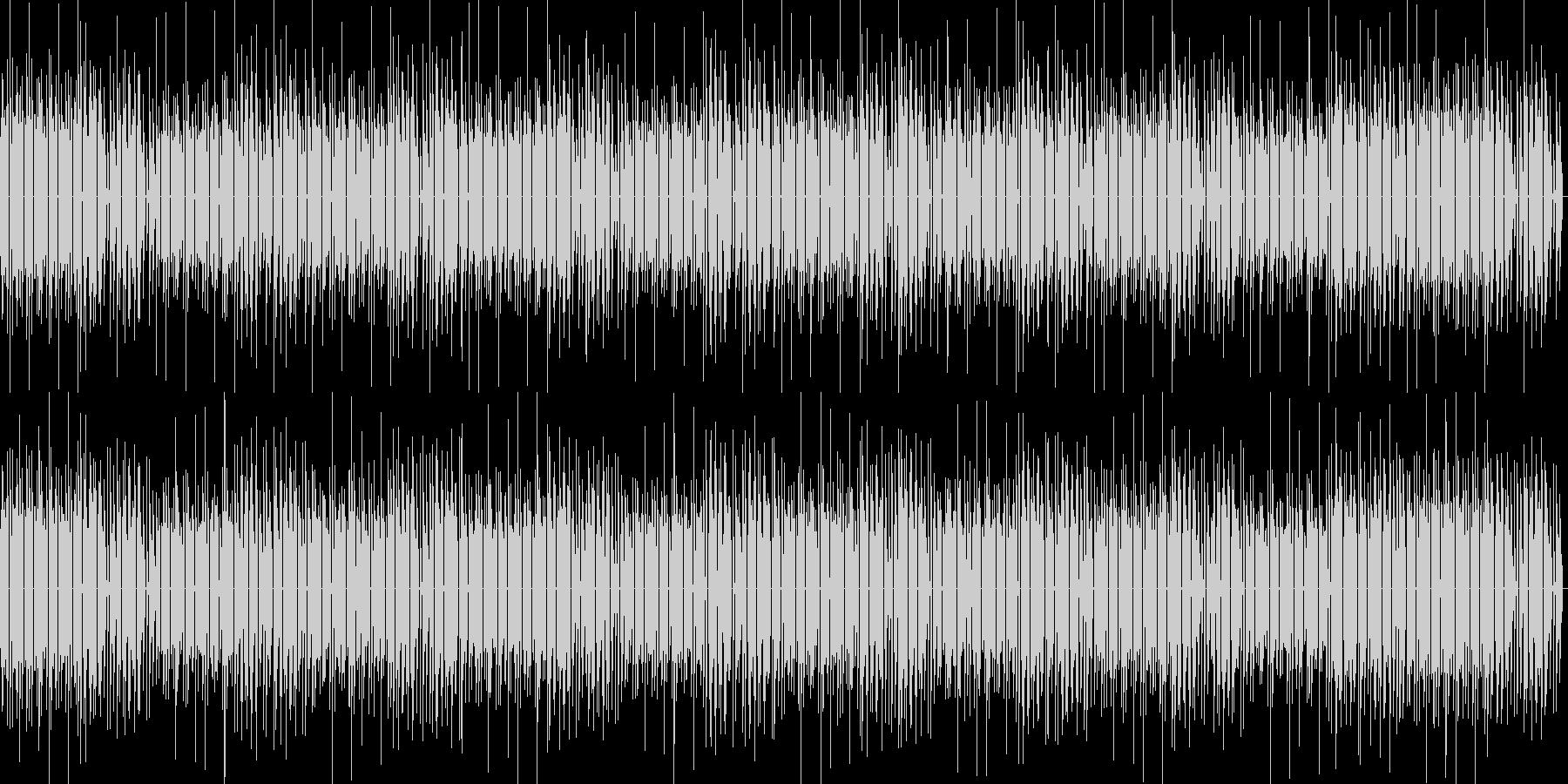 8bit ゲーム内音楽 チップチューン1の未再生の波形
