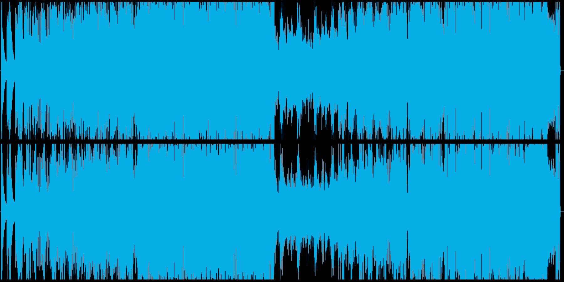 怒りやアドレナリン放出のデジタルロックの再生済みの波形