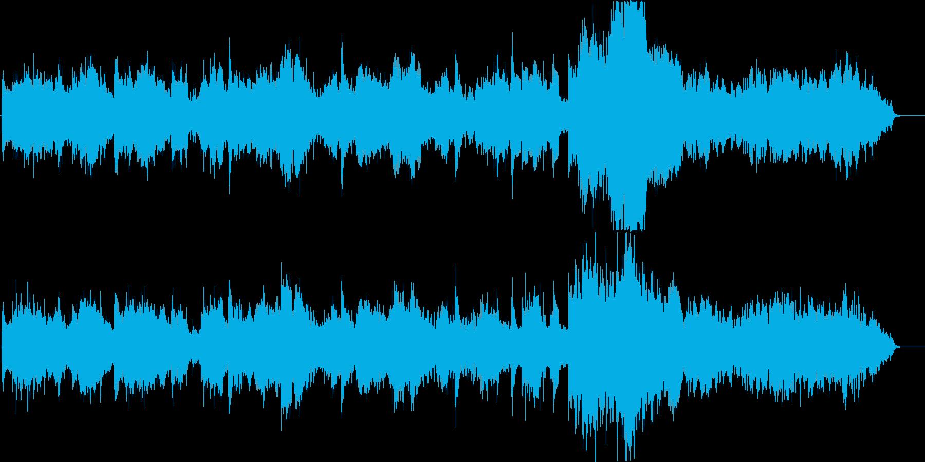 クラシック音楽を和風アレンジの再生済みの波形
