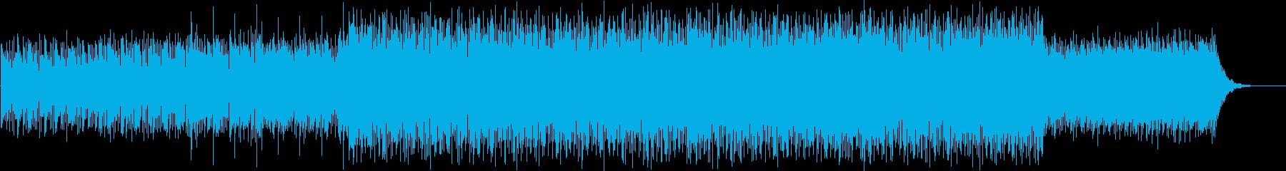 機械的なテクスチャーの再生済みの波形