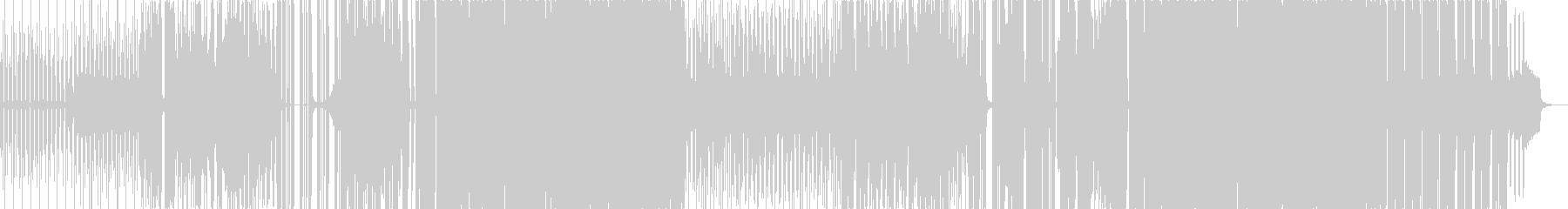 沖縄民謡「べーべーぬ草刈いが」カバーの未再生の波形