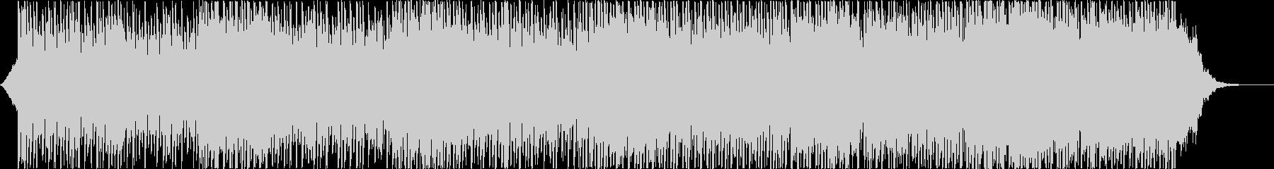 ピアノとシンセパッドのミディアムハウスの未再生の波形