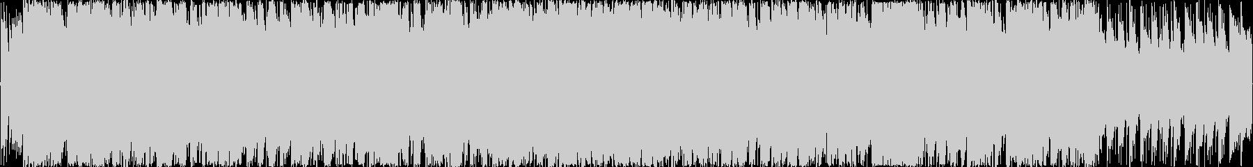 ポップなゲーム用ハイテンポテクノ ループの未再生の波形