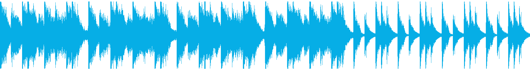 勇壮クラップ&ストンプ&コーラス/ループの再生済みの波形