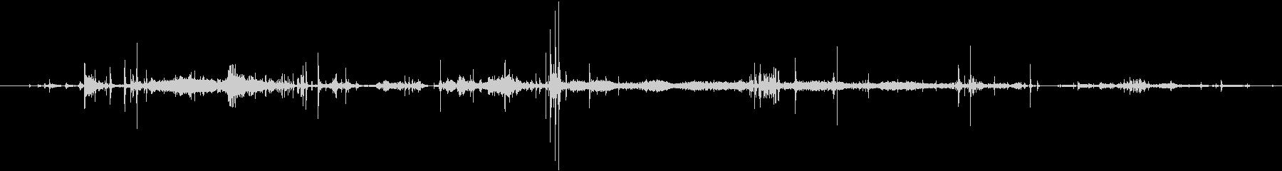 クロスカントリースキー:移動または...の未再生の波形