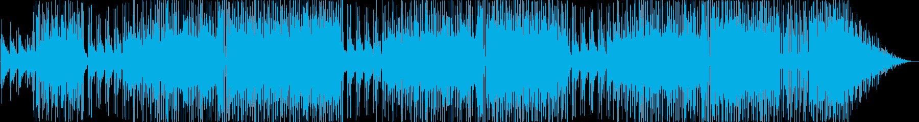 動画 スパニッシュギター 手のひら...の再生済みの波形