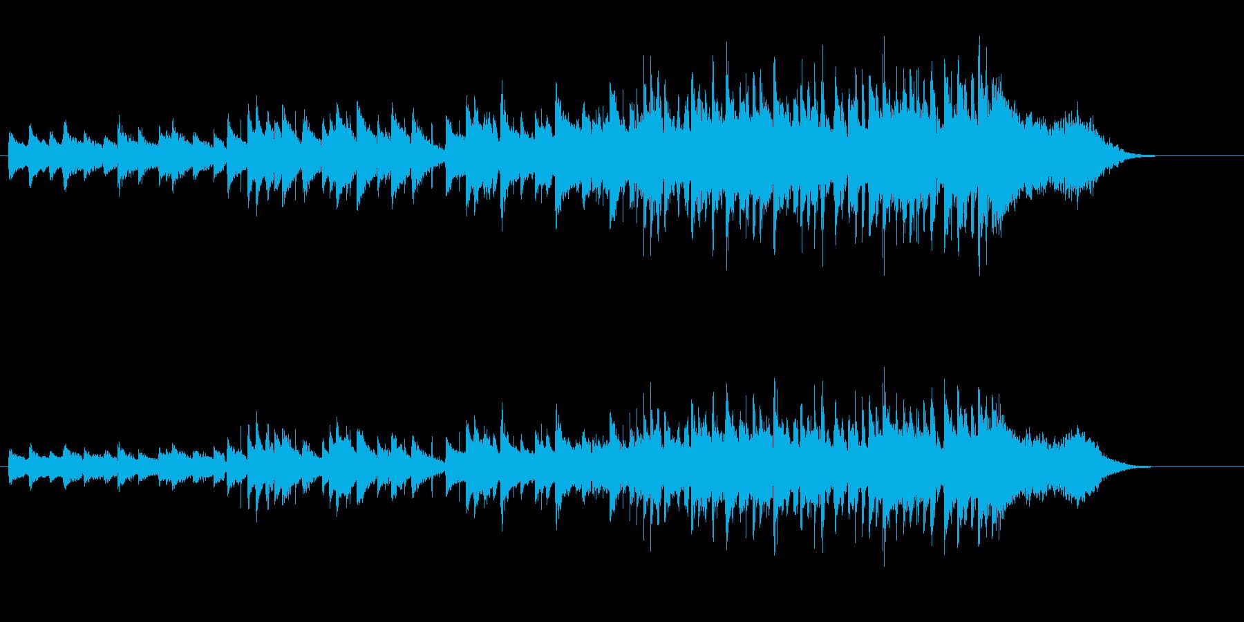 漫然としたシンプルなポップスの再生済みの波形