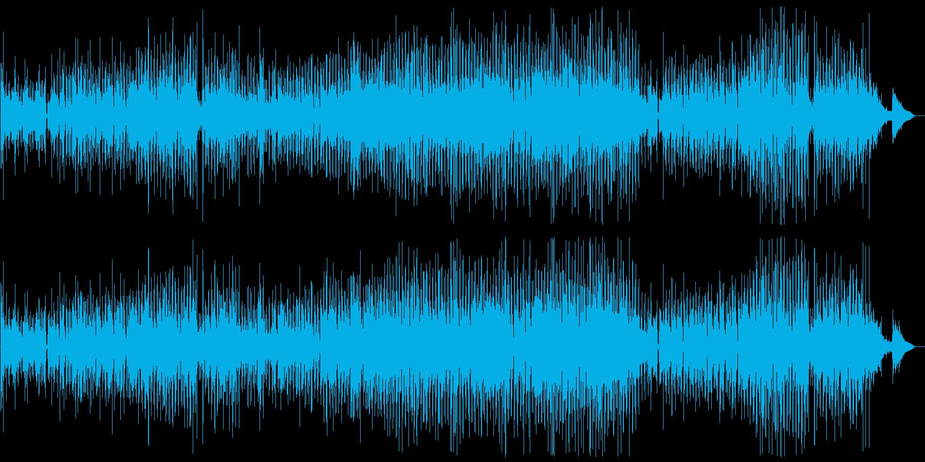 切ない片思いを描いたボサノバナンバー。の再生済みの波形