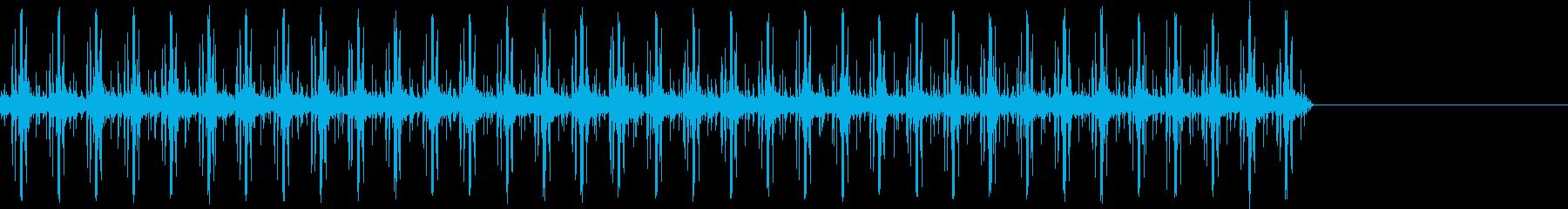 蒸気機関-ポンプ-高速の再生済みの波形