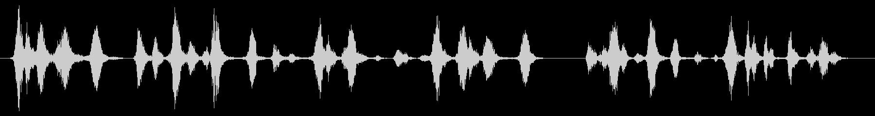 犬 犬近所バーククローズ01の未再生の波形