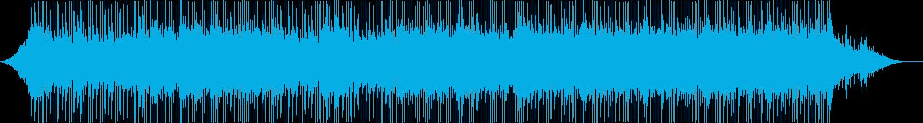 インストルメンタルライトロック。ピ...の再生済みの波形