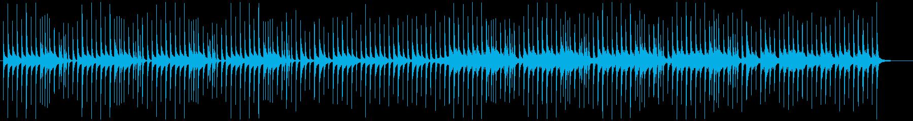 コミカルで可愛い木琴と鉄琴の再生済みの波形