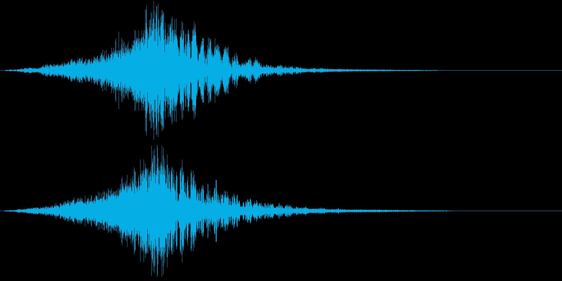 高品質なCINEMATICサウンドの再生済みの波形