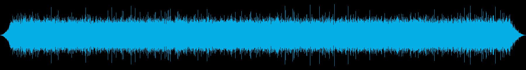 ストリーム:中パチパチとバブリングフローの再生済みの波形