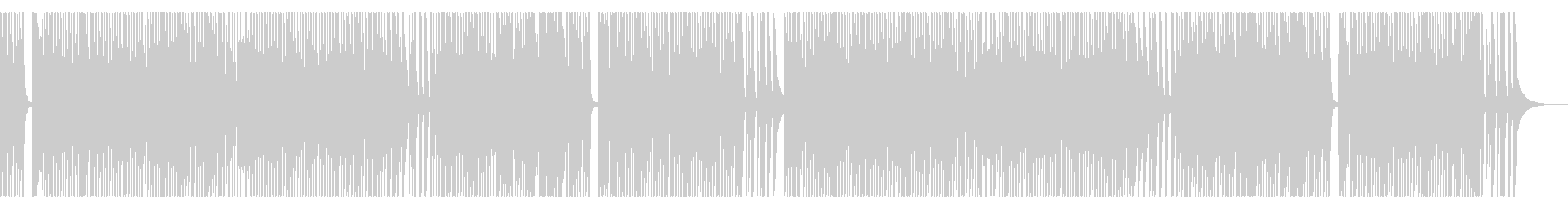 キッズ用に最適 ほのぼの軽快NHK風の未再生の波形