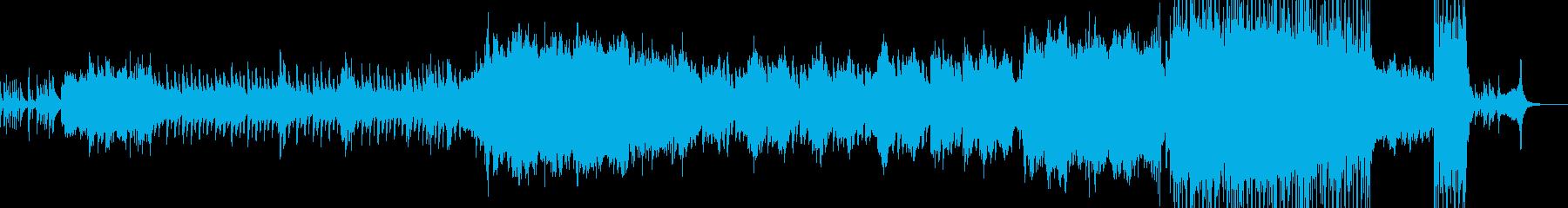 2人が結ばれる時・劇的なラストへ A2の再生済みの波形