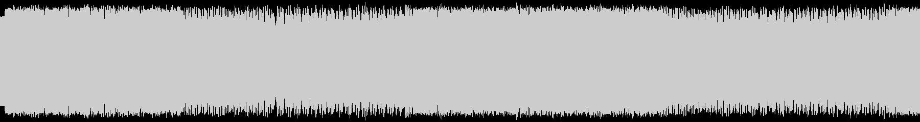 パトカーのサイレンの未再生の波形