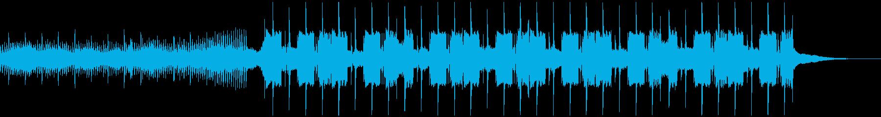 クールなFuture Bassの再生済みの波形