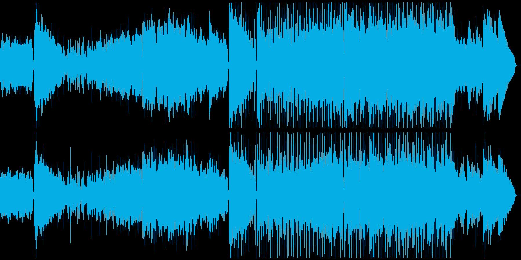 切ない雰囲気80年代風のJpopバラードの再生済みの波形