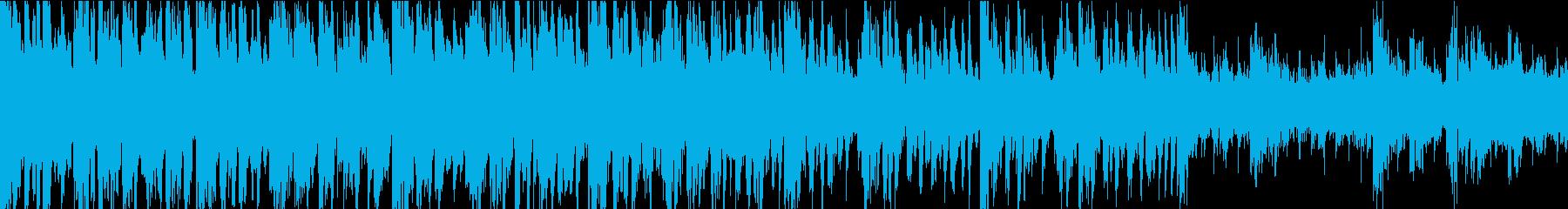 ポジティブで心地よいドラムンベース...の再生済みの波形