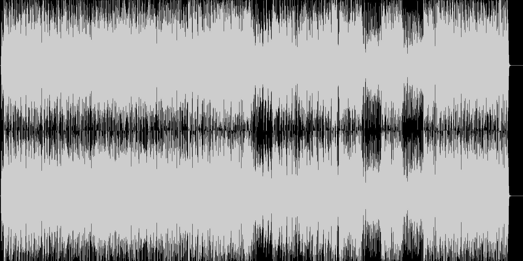 アルルの女のピアノトリオ(ラテン)の未再生の波形