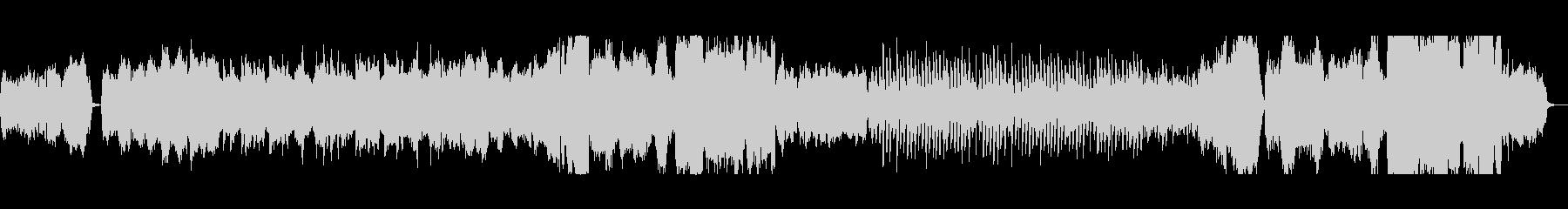 弦とハープのバラードの未再生の波形