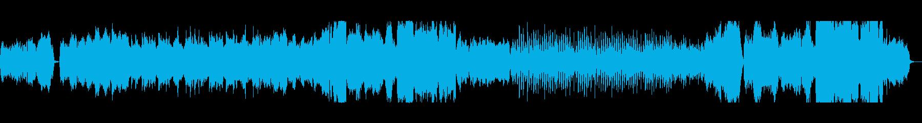 弦とハープのバラードの再生済みの波形