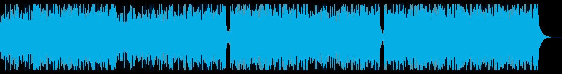 透明感のある美メロEDM 盛り上がるの再生済みの波形