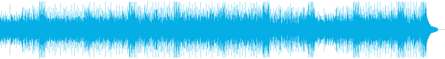 ファンキーイベントオープニング:ギター抜の再生済みの波形