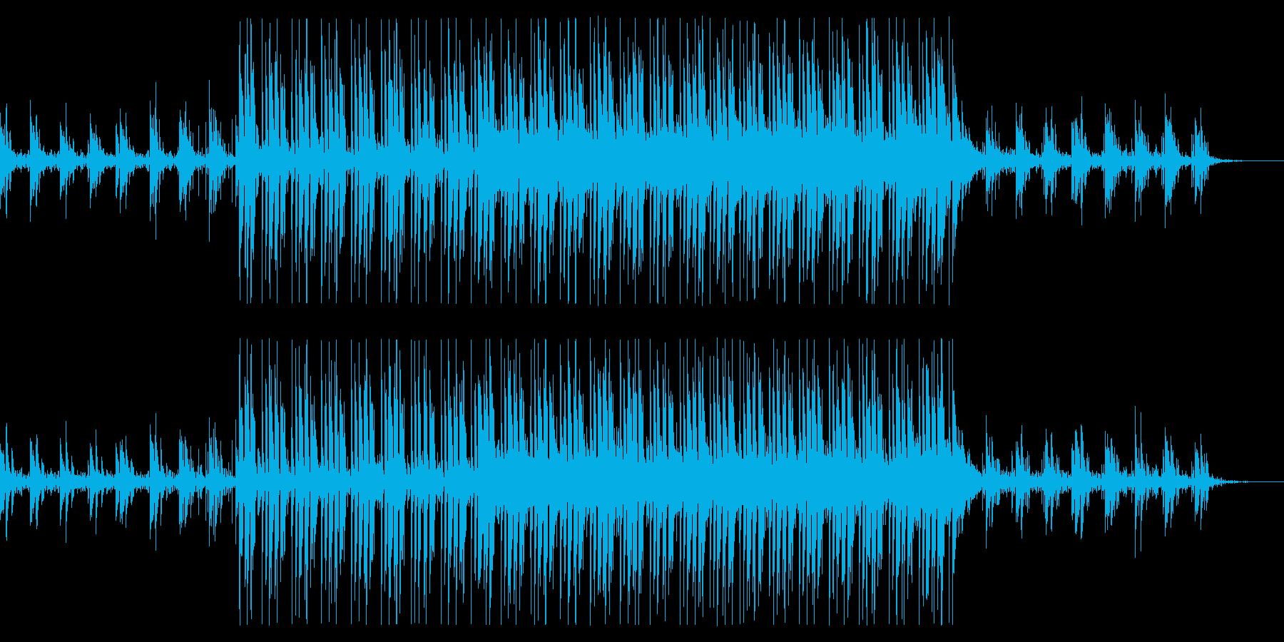 情報番組向けクールなインストの再生済みの波形