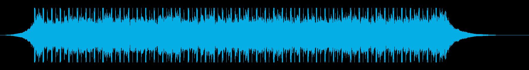 建設工事(30秒)の再生済みの波形