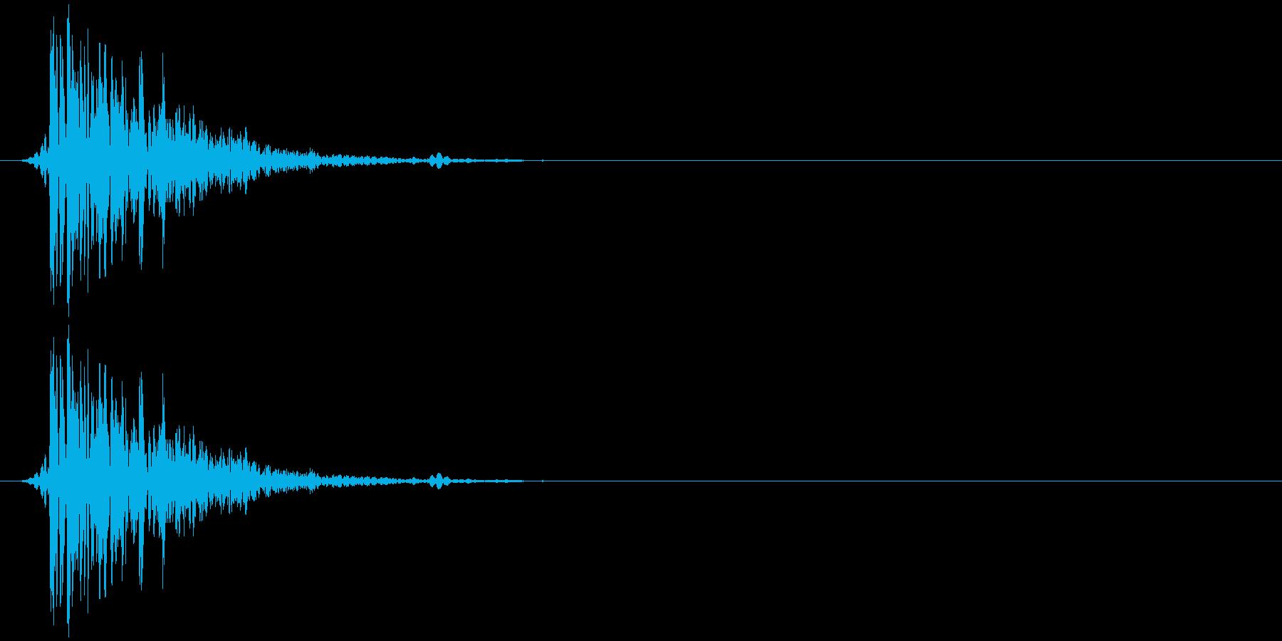 ハードフェイスパンチヴィンテージ録...の再生済みの波形