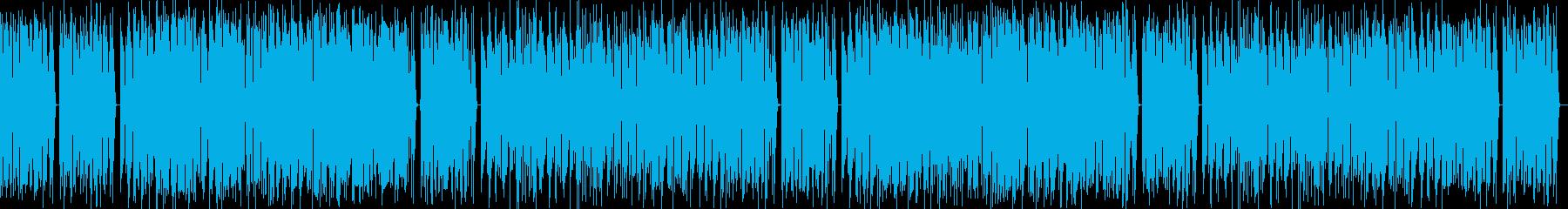 陽気で熱いラテンリズムのコミカルサウンドの再生済みの波形