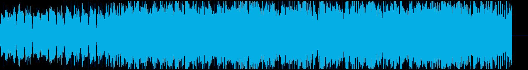 寂しげなスローでトリッキーなEDMの再生済みの波形