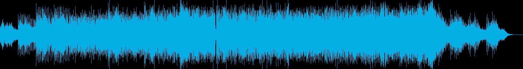 AI・近未来的なテクノの再生済みの波形