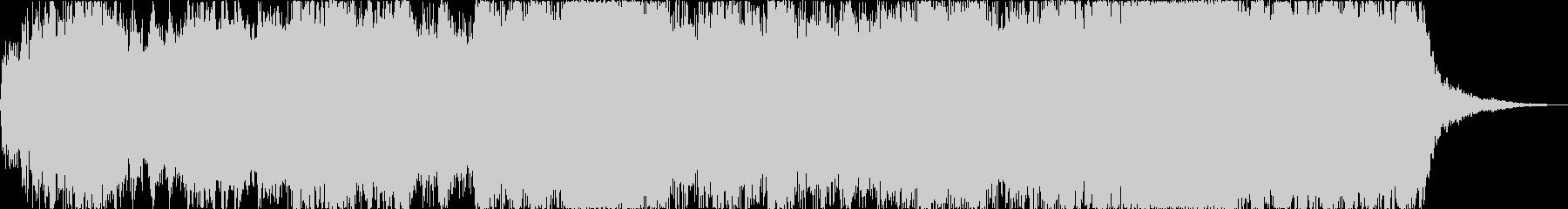 オーケストラの壮大なファンファーレ風の…の未再生の波形