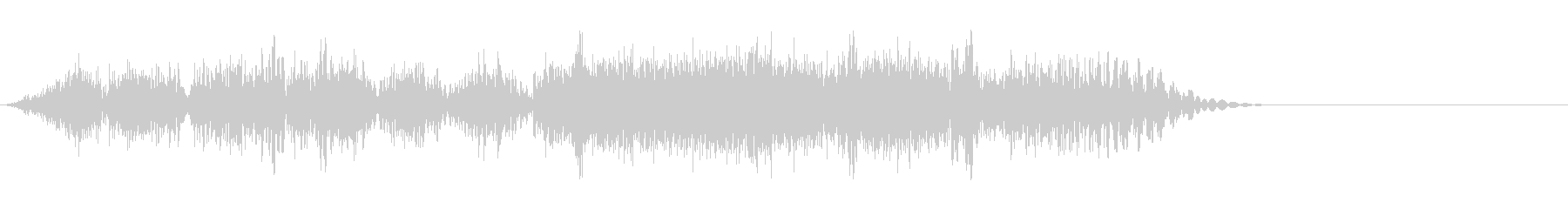 DJスクラッチ03_リバース音03の未再生の波形