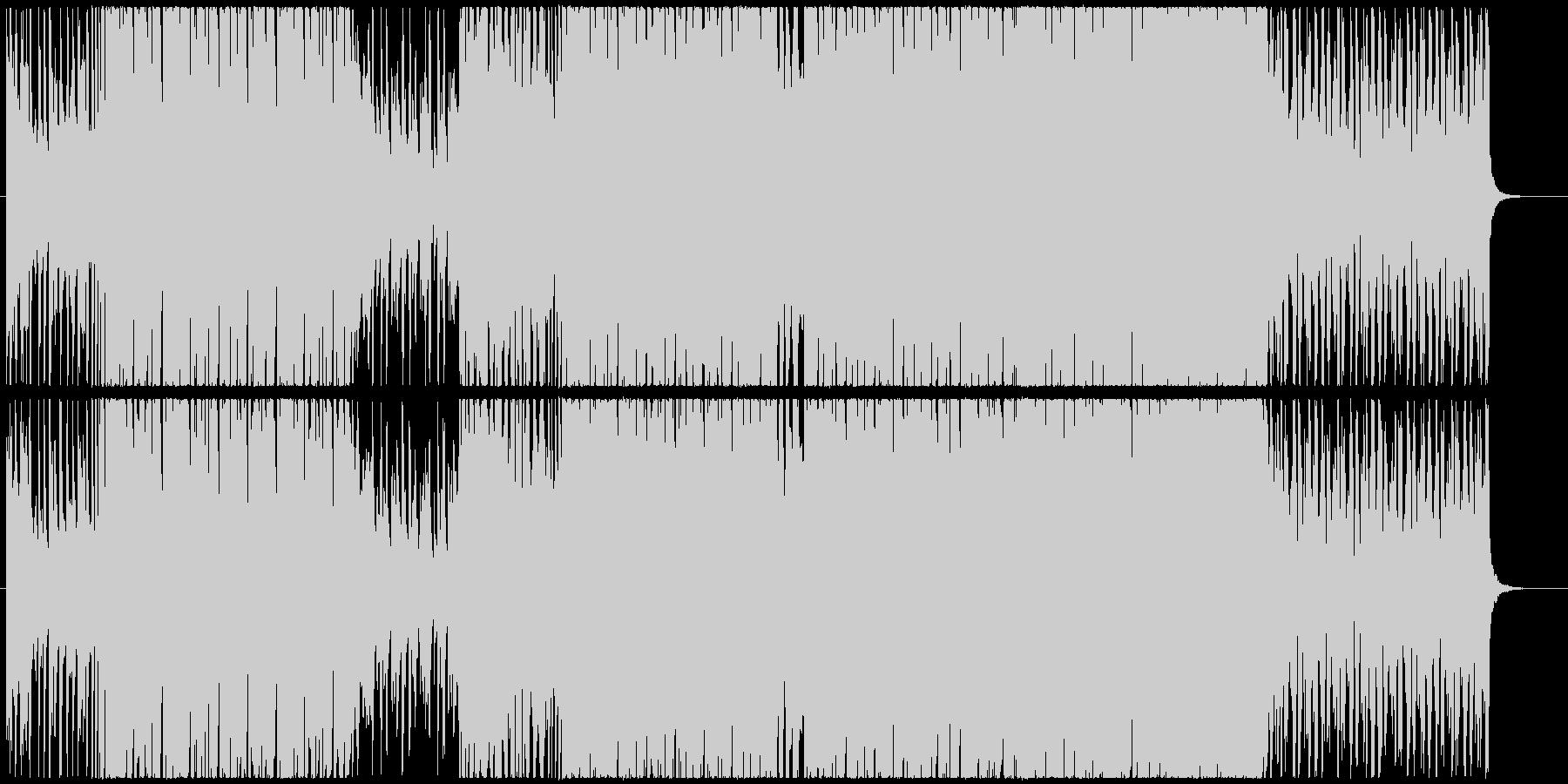 爽快なシンセとギターのファンクエレクトロの未再生の波形