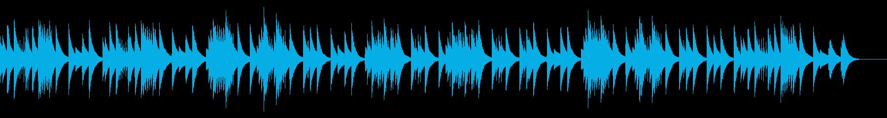 グノシエンヌ No.2_オルゴールverの再生済みの波形