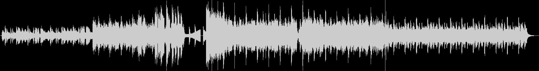配信のオープニング等に使える楽曲の未再生の波形