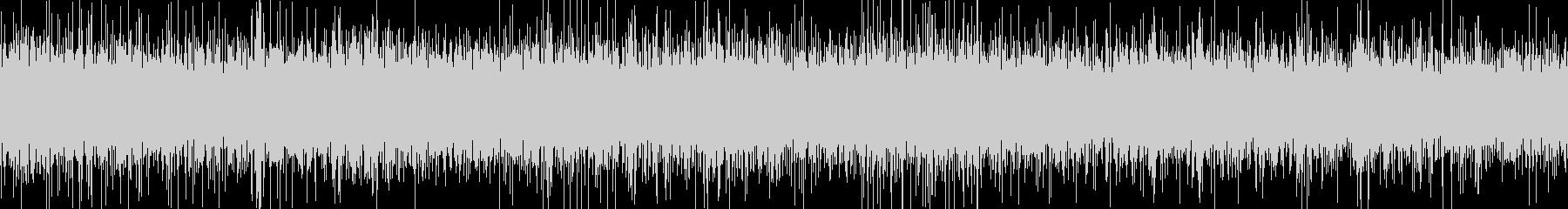 小さな滝(環境音)の未再生の波形