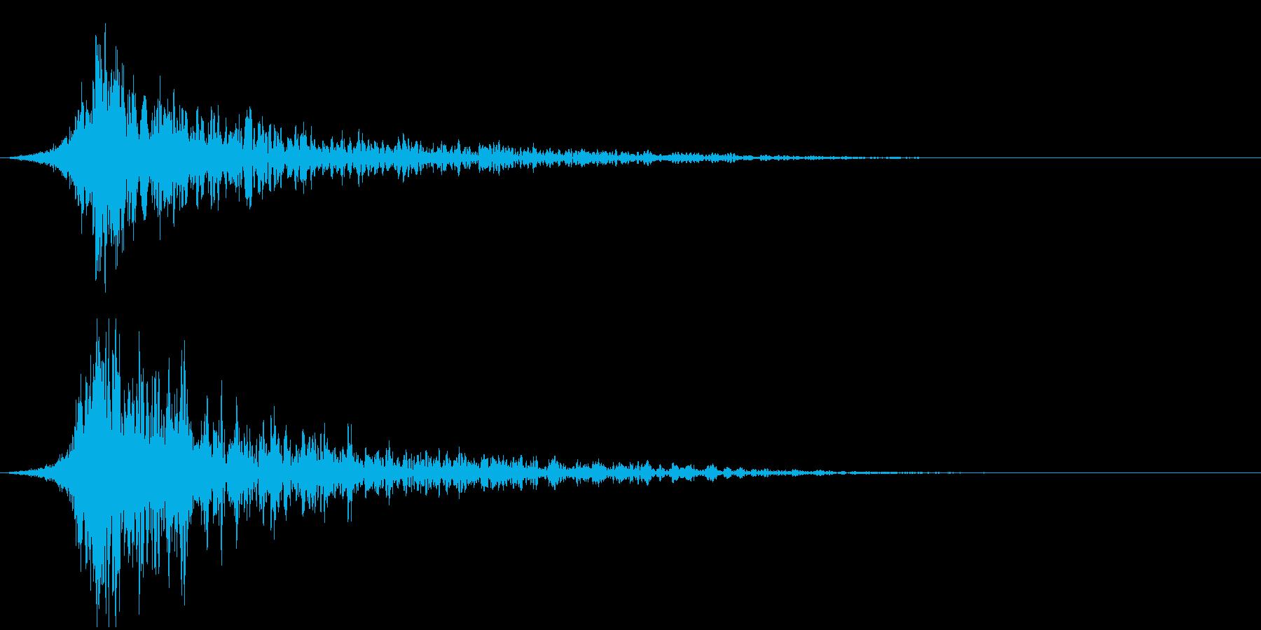 シュードーン-37-2(インパクト音)の再生済みの波形