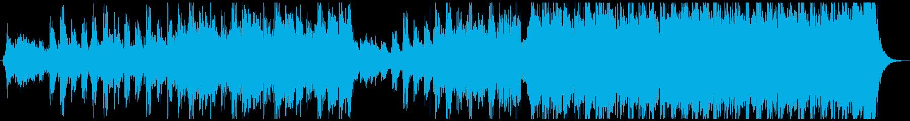 壮大なエピックオーケストラミュージックの再生済みの波形