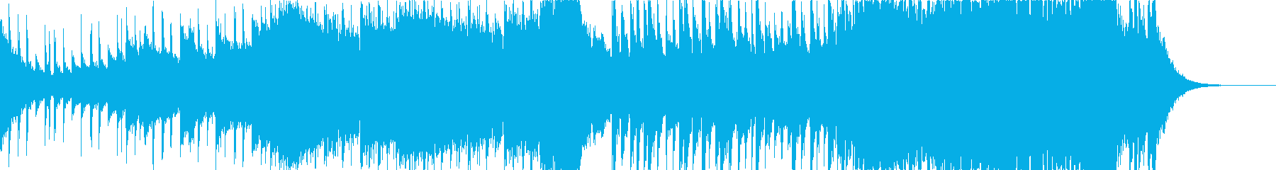 短めな可愛いフューチャーベースの再生済みの波形